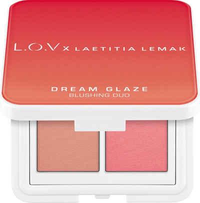 L.O.V Rouge-Palette »L.O.V x LAETITIA LEMAK DREAM GLAZE Blushing Duo«