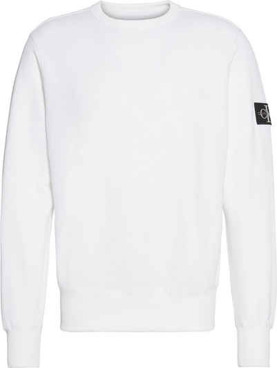 Calvin Klein Jeans Sweatshirt »MONOGRAM SLEEVE BADGE CN«