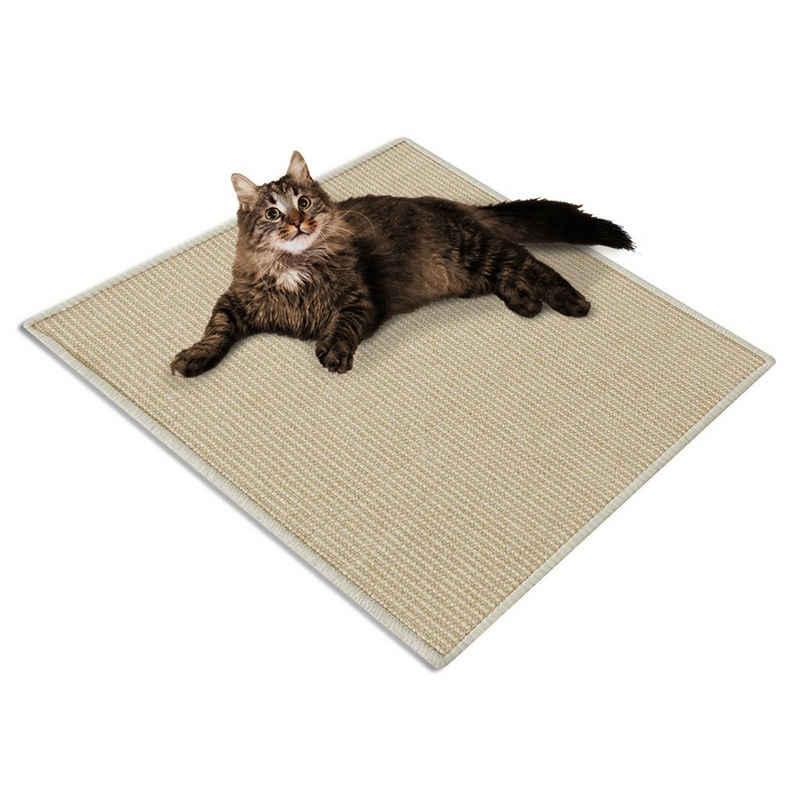 casa pura Kratzbrett »Sisal-Kratzteppich für Katzen«