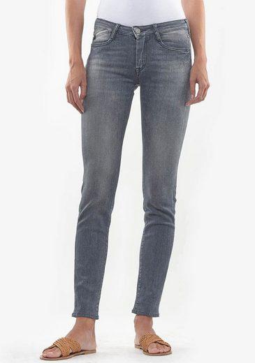 Le Temps Des Cerises Skinny-fit-Jeans »POWER« im angesagten Used-Look