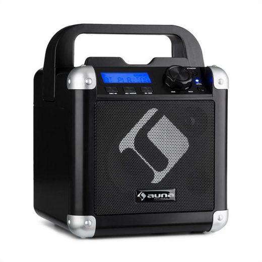 Auna BC-1 Karaoke-System Bluetooth Akku Tragegriff USB AUX-In Party-Lautsprecher
