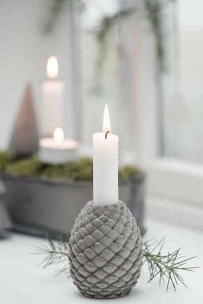 Ib Laursen Kerzenhalter »IB Laursen Kerzenhalter Zapfen grau«