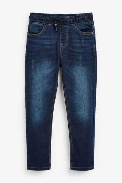 Next Schlupfjeans »Jersey-Jeans mit elastischem Bund – Skinny Fit« (1-tlg)