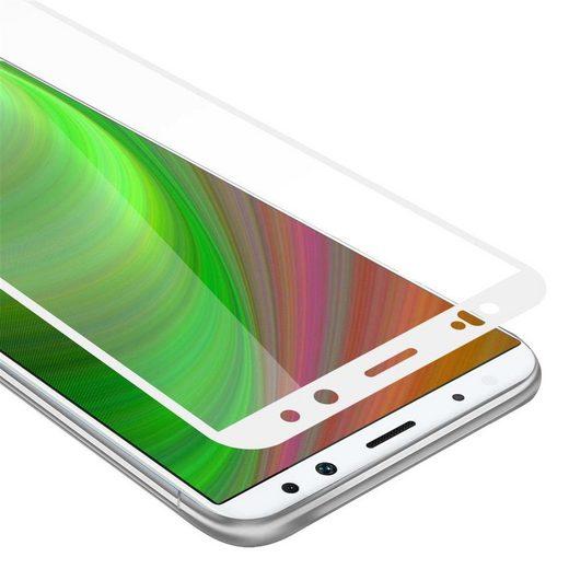 Cadorabo Schutzfolie »Cadorabo Tempered für Huawei MATE 10 LITE Fullcover Tempered«, Schutzfolie in 9H Härte mit 3D Touch Kompatibilität