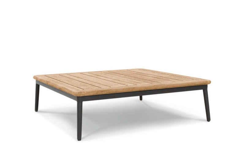 Musterring Gartentisch, Loungetisch Menorca 89x89 / 35,5 cm Schwarz