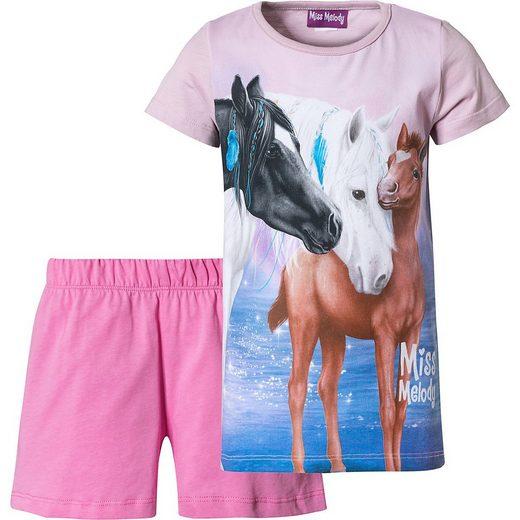 Miss Melody Schlafanzug »Miss Melody Schlafanzug für Mädchen«