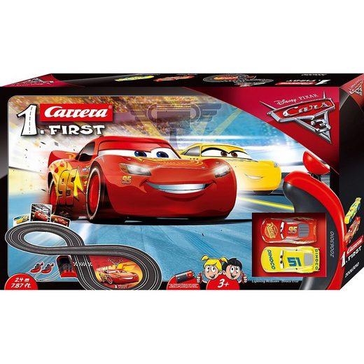 Carrera® Autorennbahn »Carrera First Disney Pixar Cars 3«