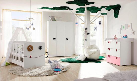 now! by hülsta Babyzimmer-Komplettset »now! minimo«, (Set, 5-tlg)