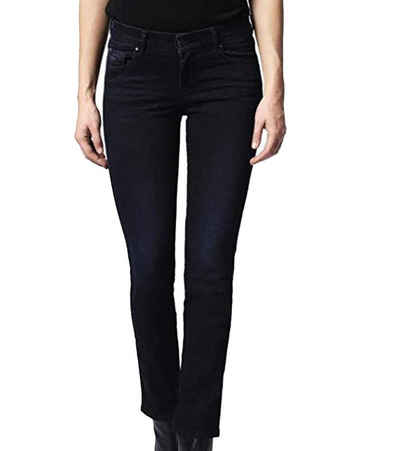 Diesel Regular-fit-Jeans »DIESEL Sandy Jeans modische Damen 5-Pocket-Hose mit Gürtelschlaufen Freizeit-Hose Schwarz«