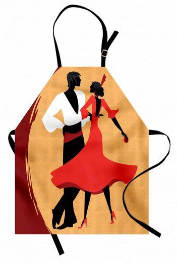 Abakuhaus Kochschürze »Höhenverstellbar Klare Farben ohne verblassen«, Spanisch Tänzer in der Folk-Kleider