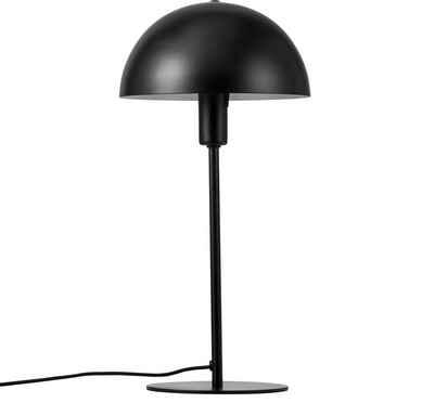Nordlux Tischleuchte »Ellen«, Stabiles Metall Gehäuse im zeitlosen skandinavischem Design, kuppelförmiger Lampenschirm, edles Schwarz