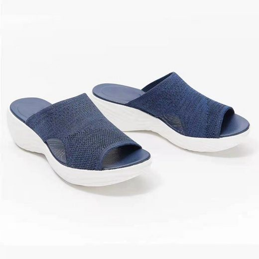 TOPMELON »Knitted Wedge Sports Corrective Sandals« Hausschuh