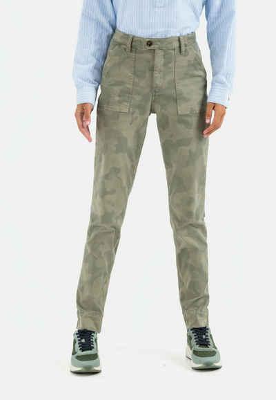 camel active 5-Pocket-Hose »Hose mit Camouflage Print«