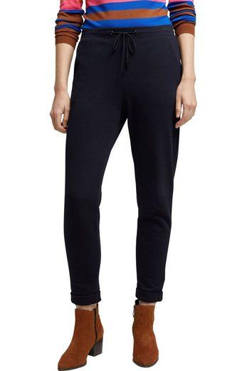 Esprit Jogger Pants mit elastischem Gummizug-Bund und Kordelzug