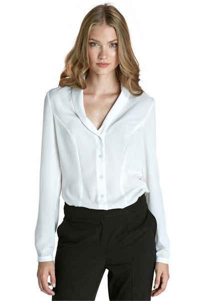 nife Klassische Bluse »Bluse mit V-Ausschnitt«