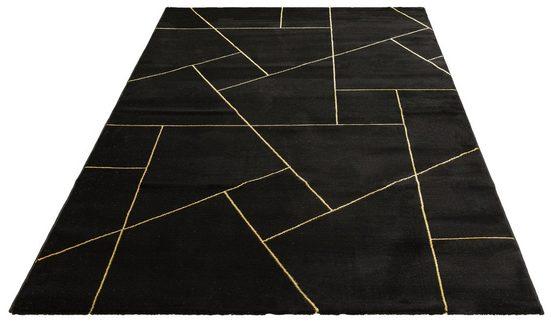 Teppich »Lerina«, Leonique, rechteckig, Höhe 12 mm, moderne Marmor-Optik, Wohnzimmer