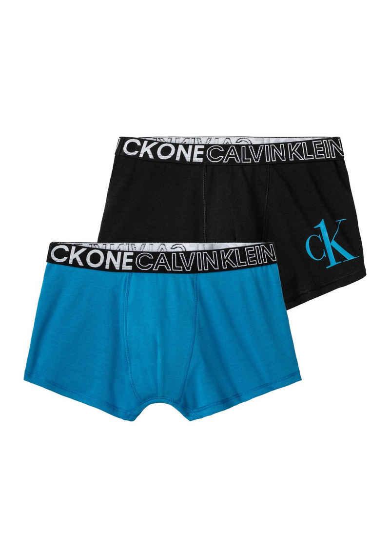 Calvin Klein Boxer »Jungen« (2 Stück) 1x mit CK Print auf dem Bein