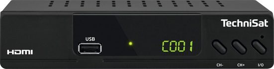 TechniSat »HD-C 232 HD-« Kabel-Receiver (mit HDMI, USB Mediaplaye)