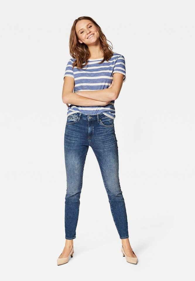 mavi -  High-waist-Jeans »TESS« schmaler FIt