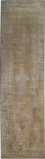 Läufer »Vogue 221 oF«, RESITAL The Voice of Carpet, rechteckig, Höhe 9 mm, Teppich-Läufer, Kurzflor, gewebt, Orient-Optik, Hoch-Tief-Struktur, Vintage Design