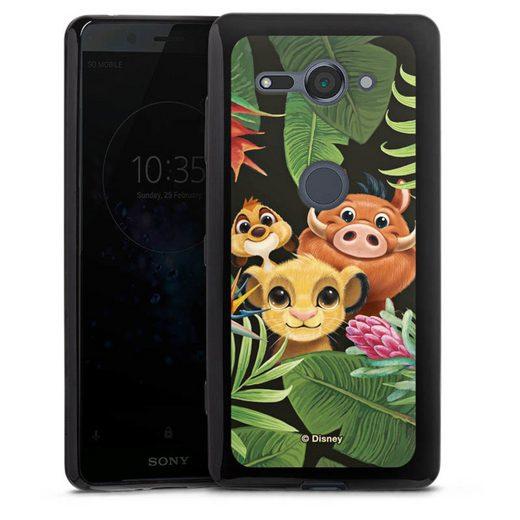 DeinDesign Handyhülle »Simbas Friends« Sony Xperia XZ 2 Compact, Hülle Disney Simba Timon und Pumbaa