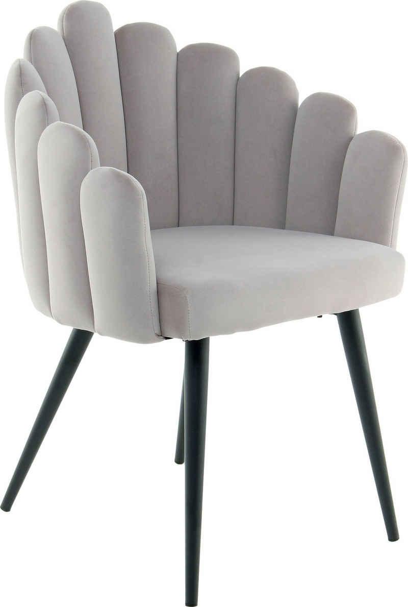 Kayoom Polsterstuhl »Stuhl Jeane 525«, besondere Aufmachung