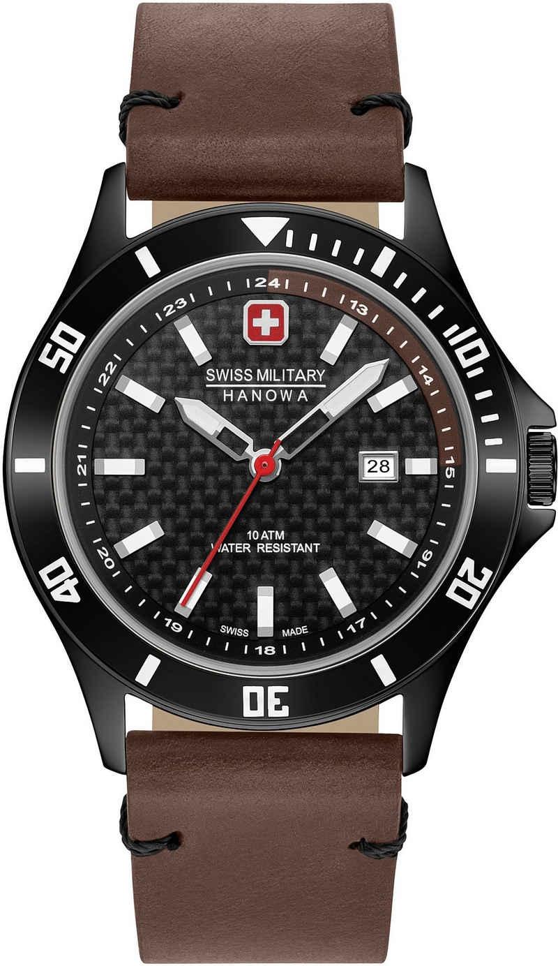 Swiss Military Hanowa Schweizer Uhr »FLAGSHIP RACER, 06-4161.2.30.007.05«