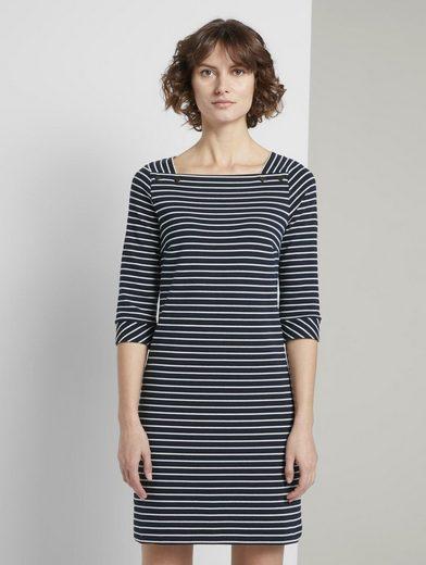 TOM TAILOR Minikleid »Maritimes Kleid mit Streifen« online ...