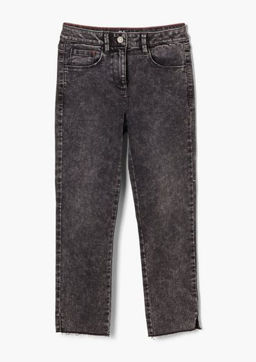 s.Oliver 5-Pocket-Jeans »Regular Fit: Straight leg-Jeans« Waschung
