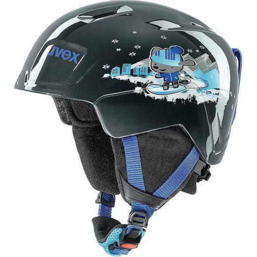 Uvex Skihelm »Skihelm manic black snow dog«