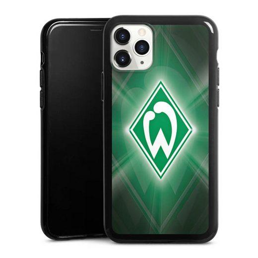 DeinDesign Handyhülle »Werder Bremen Laser« Apple iPhone 11 Pro, Hülle SV Werder Bremen Offizielles Lizenzprodukt Wappen