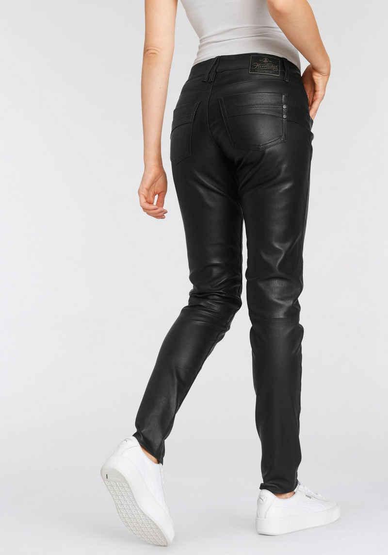Herrlicher Lederhose »TOUCH SLIM« 5-Pocket aus hochwertigem Echtleder