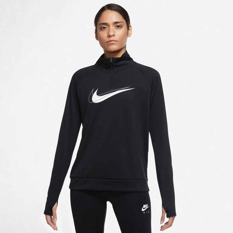 Nike Laufshirt »DRI-FIT SWOOSH RUN WOMENS 1/2-ZIPPER« In großen Größen