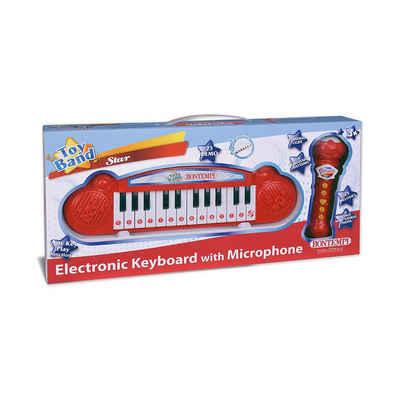 Bontempi Spielzeug-Musikinstrument »Mini-Keyboard und Karaoke-Mikrofon«