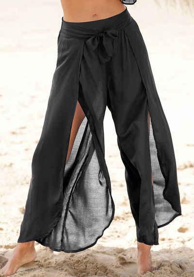 s.Oliver Strandhose mit hohen Beinschlitzen