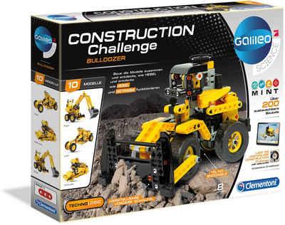 Clementoni® Modellbausatz »Galileo Construction Challenge Bulldozer«, Made in Europe