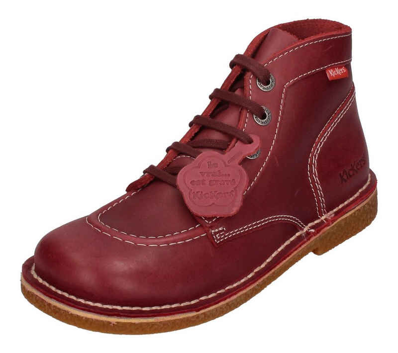 Kickers »LEGENDIKNEW 828760-50-42« Schnürboots Rouge Fonce