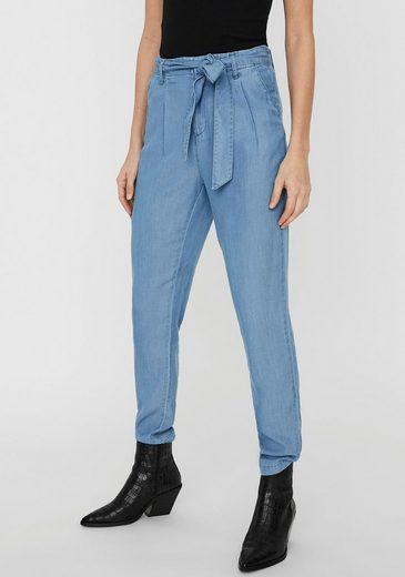 Vero Moda Loose-fit-Jeans »VMMIA HR LOOSE TIE PANT«