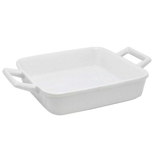 Neuetischkultur Ofenschale »Ofenschale Quadratisch mit Griffen«, Keramik