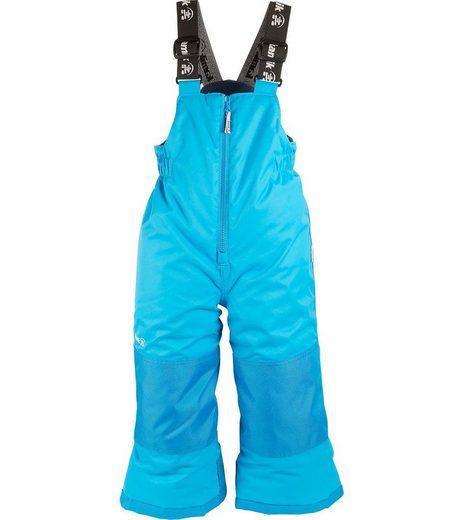 Kamik Skihose »kamik Ski-Hose wasserdichte Kinder Schnee-Hose mit Hosenträgern Winkie Solid Snowboard-Hose Hellblau«