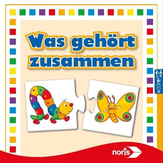 Noris Puzzle »Was gehört zusammen ab 3 Jahren«, 24 Puzzleteile