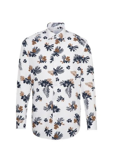 seidensticker Businesshemd »Regular« Regular Langarm Kentkragen Floral
