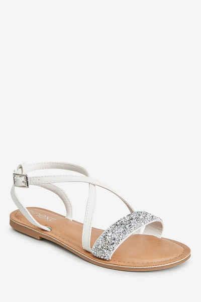 Next »Sandale mit überkreuzten Riemchen« Sandale (1-tlg)