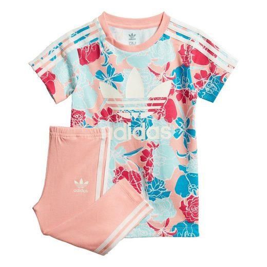 adidas Originals Trainingsanzug »T-Shirt-Kleid-Set«