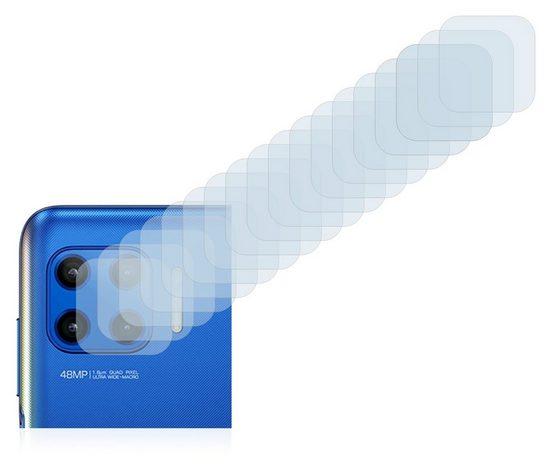 Savvies Schutzfolie »für Motorola Moto G 5G Plus (nur Kamera)«, (18 Stück), Folie Schutzfolie klar