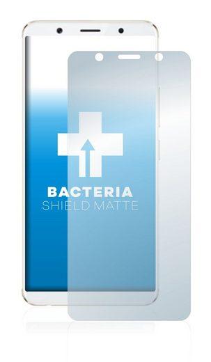 upscreen Schutzfolie »für Vivo X20 Plus«, Folie Schutzfolie matt entspiegelt antibakteriell