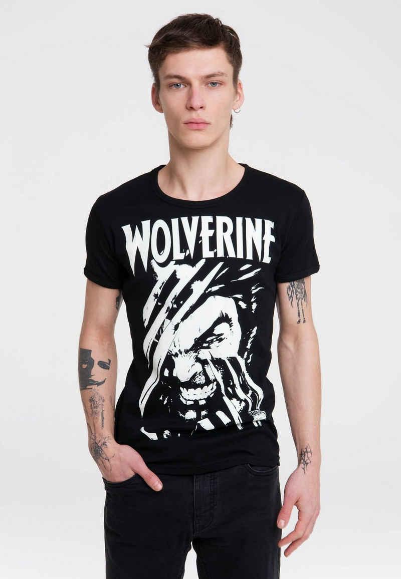 LOGOSHIRT T-Shirt »Wolverine« mit Marvel-Print