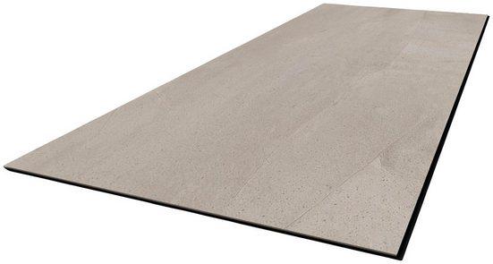 Vinylboden »Modena SPC Fliese Beton grau«, 600 x 300 mm, Stärke 4 mm, 3,3 m²