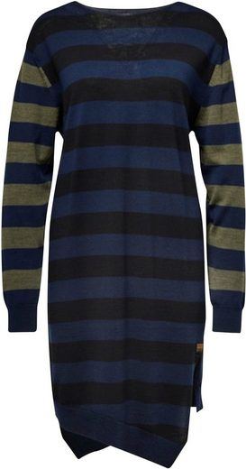 G-Star RAW Strickkleid »Cross V Knitted Kleid« mit überkreuzter Vorder- und Rückseite