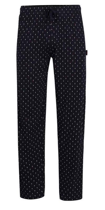 GÖTZBURG Pyjamahose »Götzburg Herren Pyjama Hose lang« Jersey Qualität